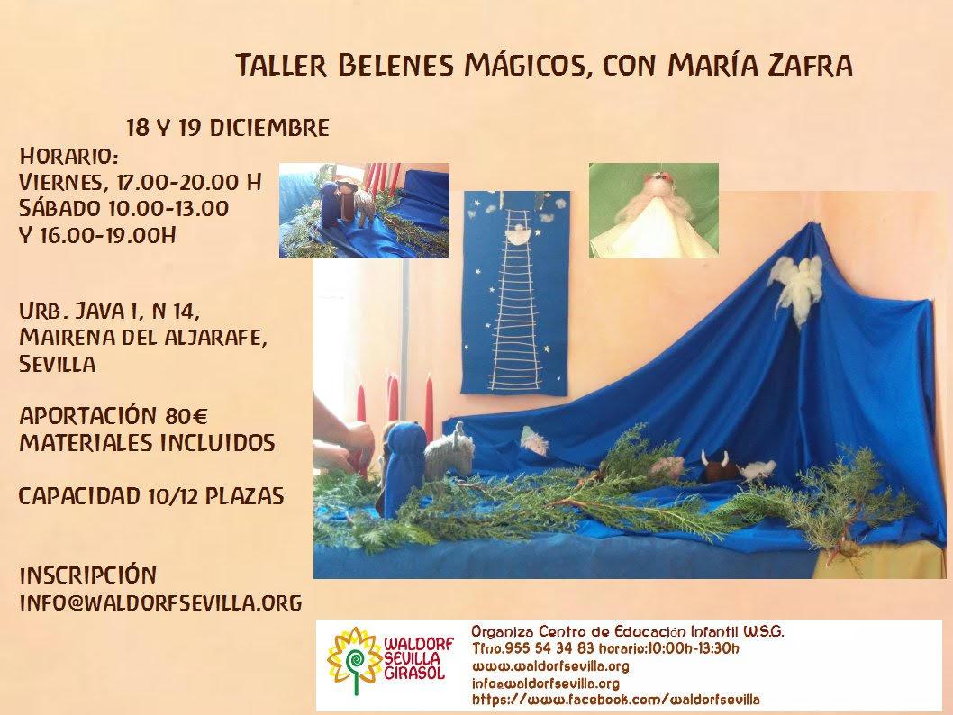 Taller Belenes Maria Zafra